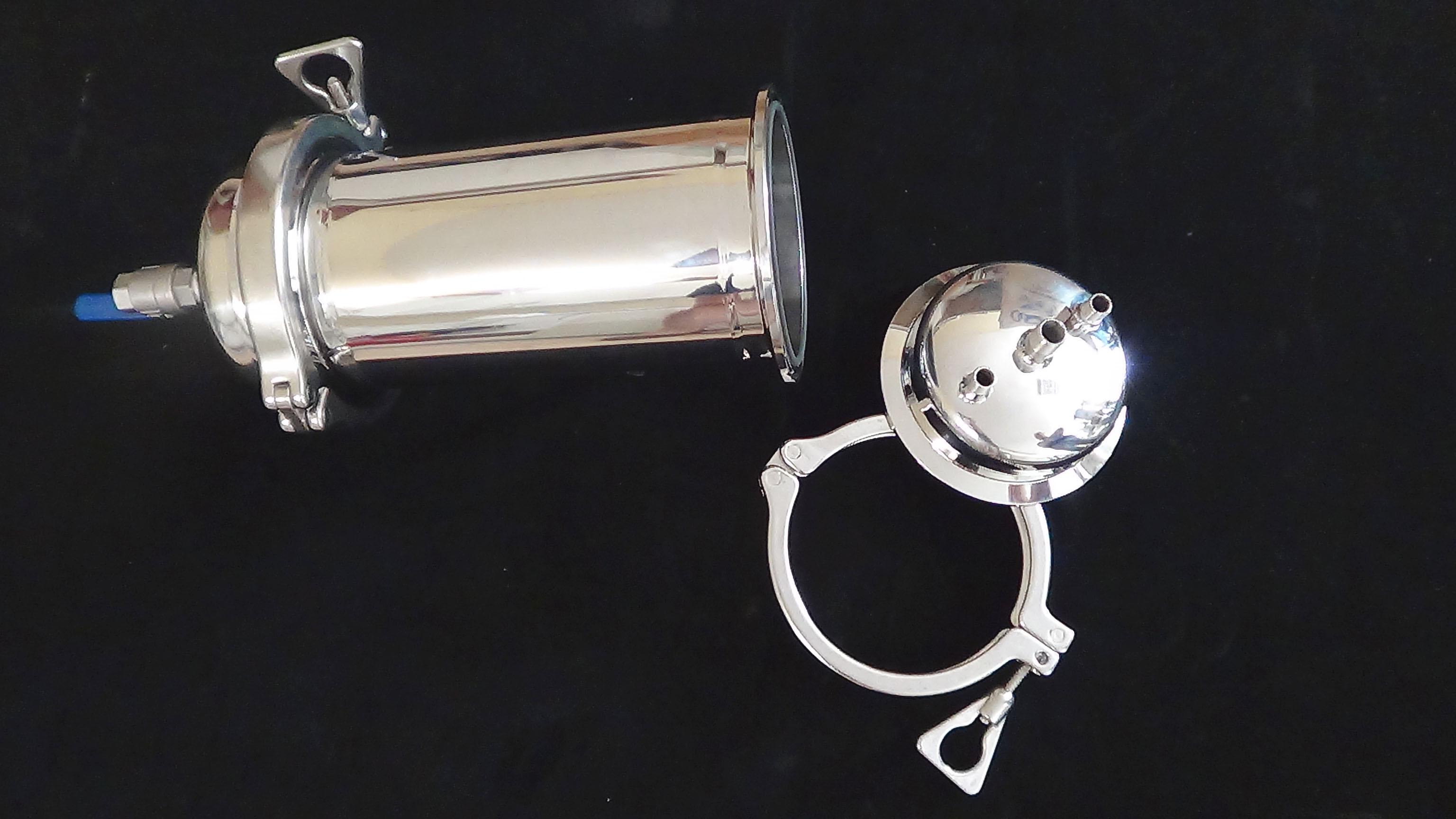 małe układy laboratoryjne, mała obudowa filtracyjna, filtracja plackowa, mały filtr