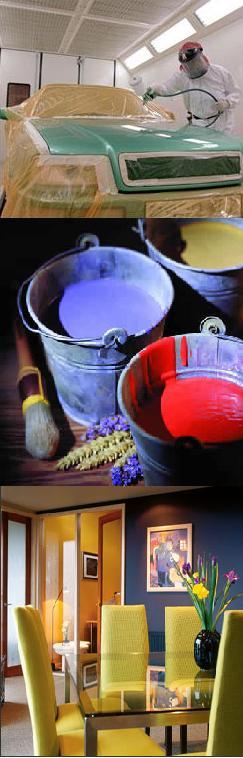 przemysł farb i lakierów